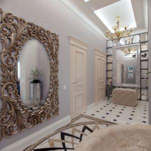 большое декоративное зеркало