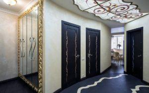 декоративные двери в прихожей