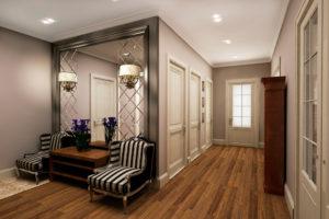деревянный паркет в дизайне интерьера
