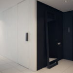 дизайн черно-белой квартиры в стиле минимализм