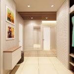 дизайн коридора минимализм