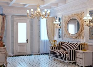 дизайн прихожей в стиле прованс для частного дома