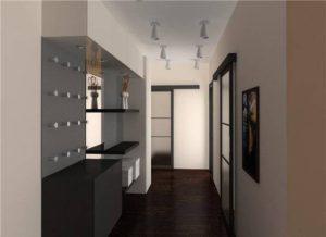 фото черной мебели в интерьере