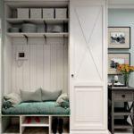 функциональный шкаф в скандинавском стиле