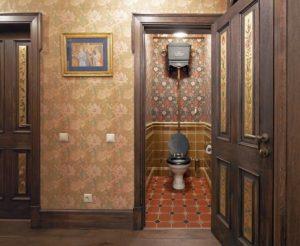 коридор в английском стиле