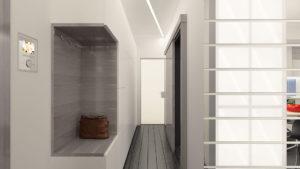 модная мебель в современном стиле для прихожей