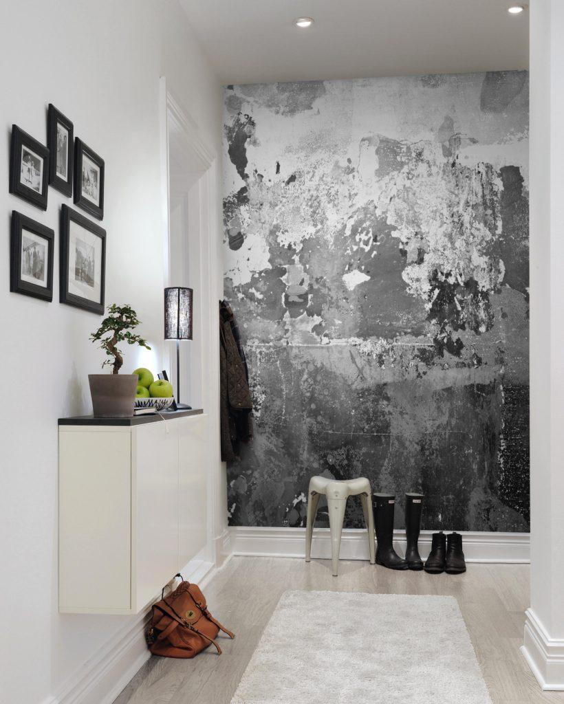 фоотообои с иммитацией бетона