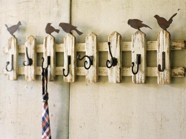крючки с птичками