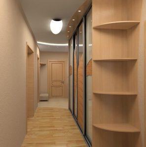центральное освещение в коридоре
