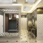 декоративные стены в стиле арт-деко