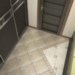 дизайн коридора с наполным покрытием