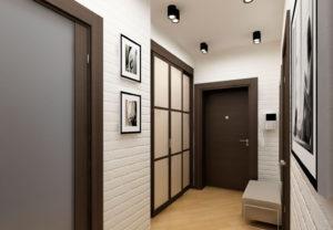 фото коридора в стиле минимализм