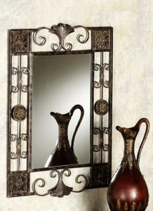 кованая рама для зеркала