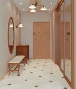напольная плитка для коридора