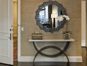 оригинальное зеркало в интерьере