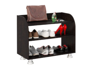 открытая обувница на ножках