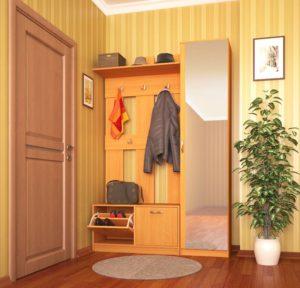 теплое освещение в коридоре