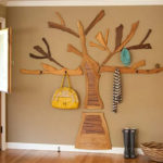 Вешалка в форме дерева