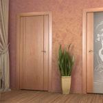 деревянные двери в прихожей
