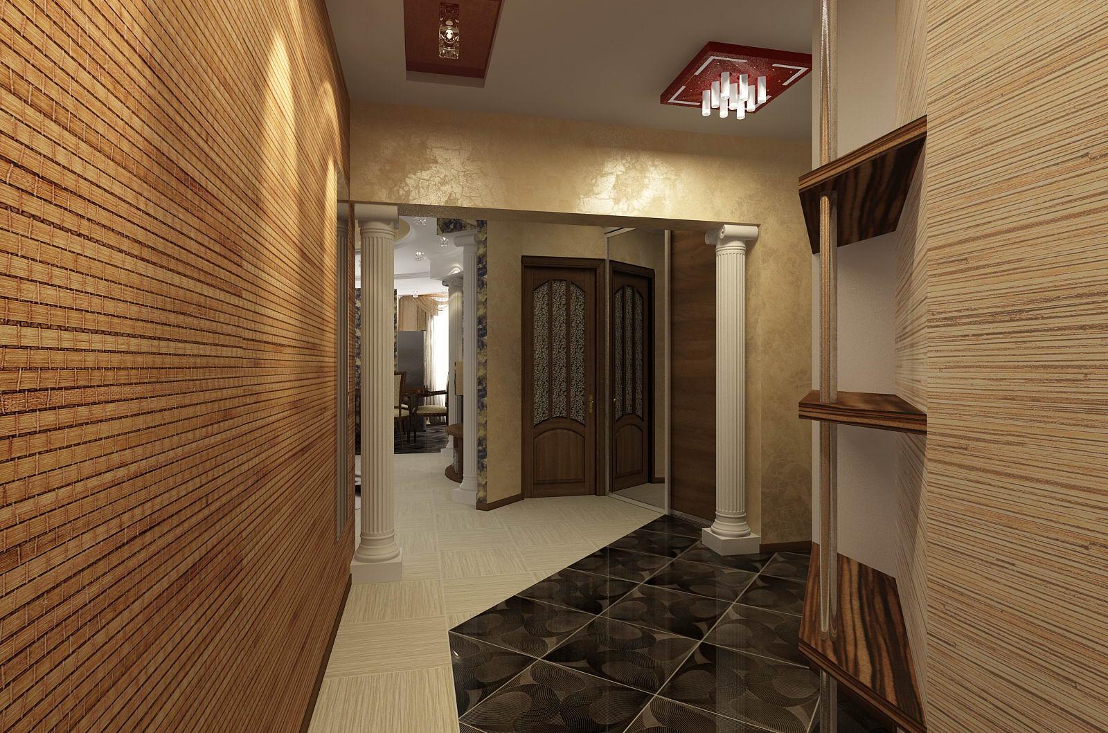 фото деревянные панели в дизайне