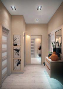 дизайн и оформление коридора