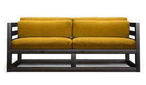 двухместный диван-тумба в прихожей