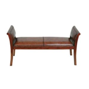 фото дивана-скамьи в прихожую