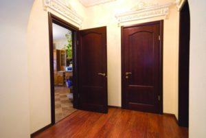 фото прихожей с проходными дверьми