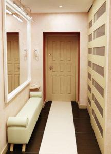 интерьер небольшого коридора