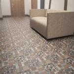 красивая керамическая плитка в коридор