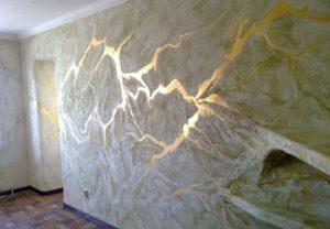 красивый дизайн стен