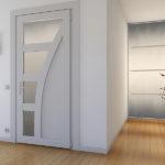 металлопластиковая межкомнатная дверь