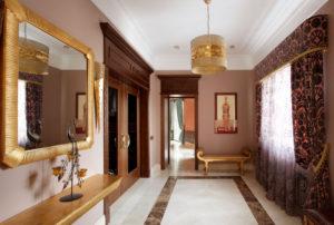 шторы для прихожей в частном доме