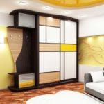 стильный дизайн шкафа