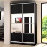 стильный дизайн шкафа в прихожей