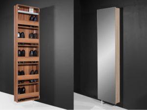 стильный поворотный шкаф