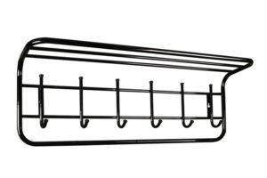 вешалка с полкой металлическая