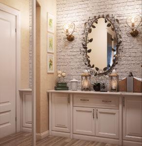 зеркало в декоративной раме