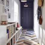 Цветное решение узкого коридора