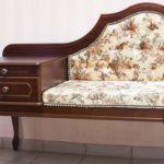 деревянный диван-банкетка