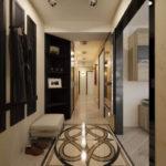 идеи для декорирования длинного коридора