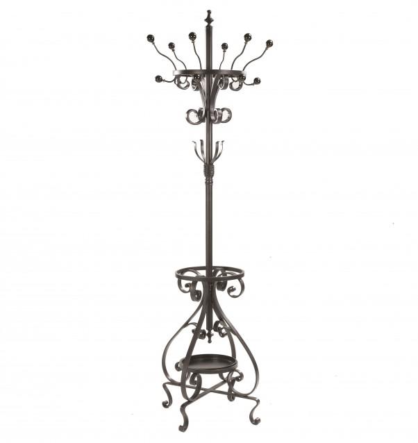 Металлическая вешалка в стиле барокко.