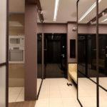 Вариант расширения узкого пространства с помощью зеркал