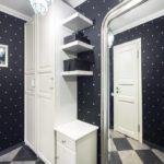 черно-белый дизайн в квартире