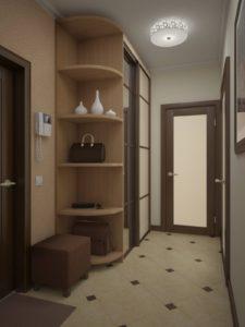 дизайн прихожей в двухкомнатной квартире