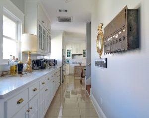 длинный кухонный гарнитур