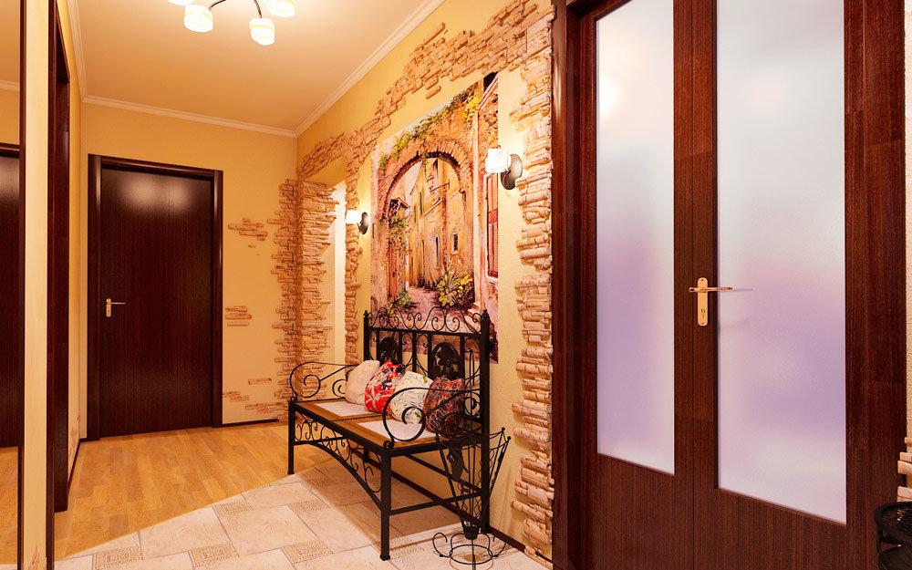 красивые коридоры в квартирах фото очень
