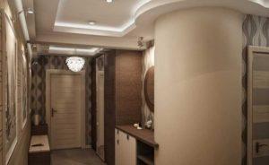 фото коридора в большой квартире