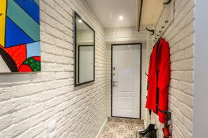 фото отделки стен в прихожей