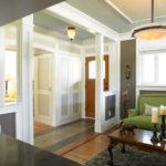 оформление современной квартиры с помощью кирпича